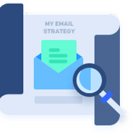 Illustration of an email strategy